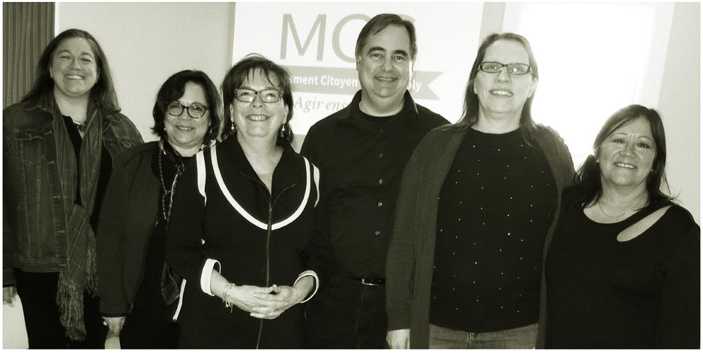 Les membre fondateurs du MCC